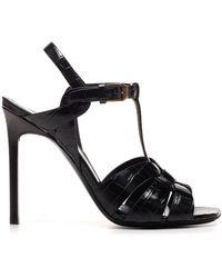 Saint Laurent 'tribute' Sandals - Black