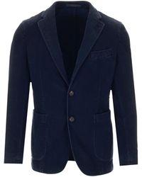 Al Duca d'Aosta Blue Classic Jacket