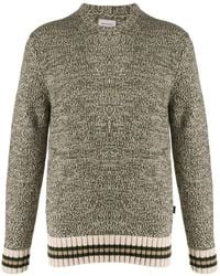 Woolrich Pullover Knitted Sweater - Natural