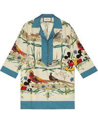 Gucci X Disney Pyjama Shirt - Multicolour