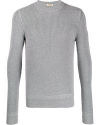 Al Duca d'Aosta Grey Wool Sweater