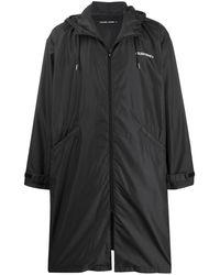 Golden Goose Deluxe Brand Long Parka Coat - Black