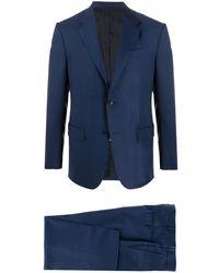 Ermenegildo Zegna Abito in lana - Blu