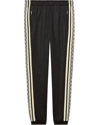 Gucci Oversize jogging Pant - Black