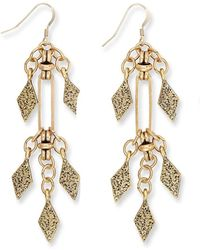 ALEX AND ANI - Spear Earrings - Lyst