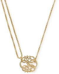 ALEX AND ANI - Path Of Life Pull Chain Necklace - Lyst