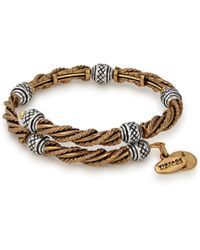 ALEX AND ANI - Relic Two Tone Wrap - Lyst