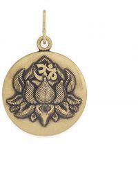 ALEX AND ANI - Lotus Peace Petals Necklace Charm Rafaelian Silver Finish - Lyst