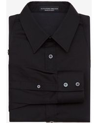 Alexander McQueen - Harness Cotton Shirt - Lyst