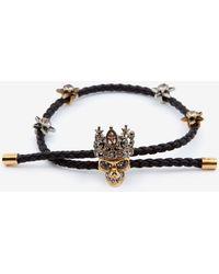 Alexander McQueen - Queen Friendship Bracelet - Lyst