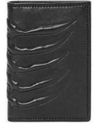 Alexander McQueen | Leather Rib Cage Pocket Organiser | Lyst