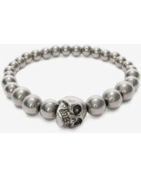 Alexander McQueen - Skull Multibeaded Bracelet - Lyst