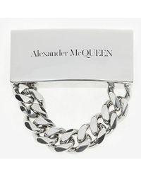 Alexander McQueen - シグネチャー チェーン スニーカー チャーム - Lyst