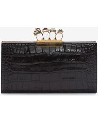 Alexander McQueen - Jewelled Four-ring Pouch - Lyst