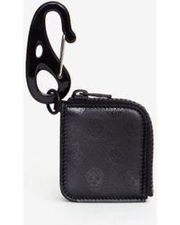 Alexander McQueen Mini Tech Purse Keyring - ブラック