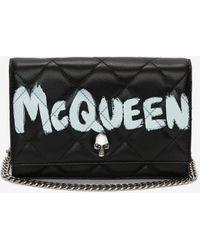 Alexander McQueen Small Skull Bag - ブラック