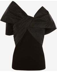 Alexander McQueen Bow T-shirt - Black