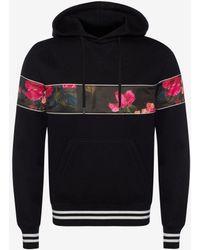 Alexander McQueen - Painted Rose Sweatshirt - Lyst