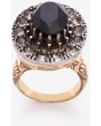 Alexander McQueen - Jeweled Ring - Lyst