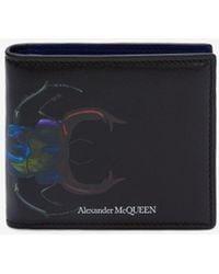 Alexander McQueen - Bug Billfold Wallet - Lyst