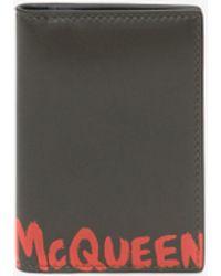 Alexander McQueen Organizer Tascabile McQueen Graffiti - Multicolore