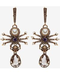 Alexander McQueen - Spider Earrings - Lyst