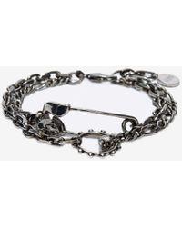 Alexander McQueen - Safety Pin Bracelet - Lyst