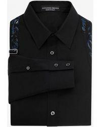 Alexander McQueen - Embroidered Harness Shirt - Lyst
