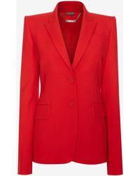 Alexander McQueen | Tailored Jacket | Lyst
