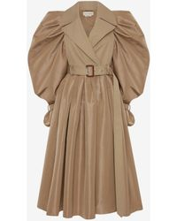 Alexander McQueen Brown Hybrid Exploded Trench Coat - Natural