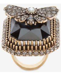 Alexander McQueen - Butterfly Ring - Lyst