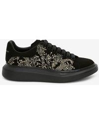 Alexander McQueen Oversized-Sneaker - Mettallic
