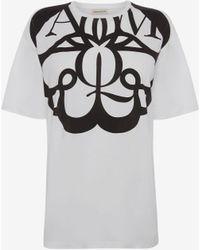 Alexander McQueen - エクスプロード シールロゴシャツ - Lyst