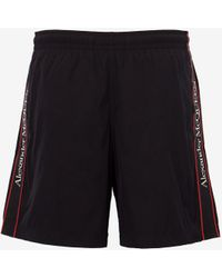 Alexander McQueen Selvedge Swim Shorts - ブラック