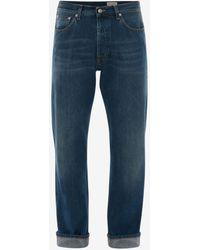 Alexander McQueen Wide Leg Jeans - ブルー