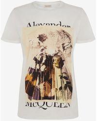 Alexander McQueen - トロンプルイユ Tシャツ - Lyst