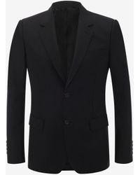 Alexander McQueen Wool Mohair Jacket - ブラック