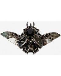 Alexander McQueen Broche scarabée - Multicolore