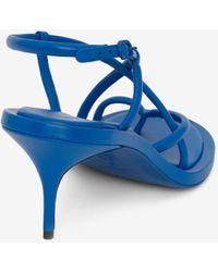 Alexander McQueen Strappy Sandal - ブルー