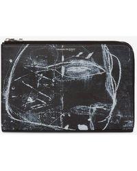 Alexander McQueen - Petite pochette semi-zippée John Deakin - Lyst