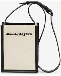 Alexander McQueen - ミニクロスボディバッグ - Lyst