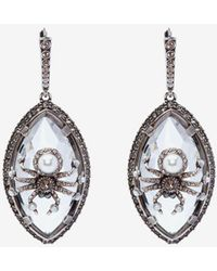 Alexander McQueen - Spider Earrings - Lyst