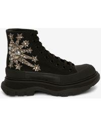 Alexander McQueen Tread Slick Boot - ブラック