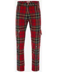 Alexander McQueen - Tartan Punk Trousers - Lyst
