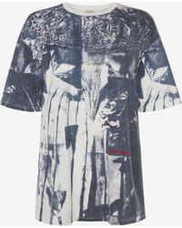 Alexander McQueen - Overprint Dress T-shirt - Lyst