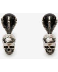 Alexander McQueen - Gemelli Skull con Artiglio - Lyst