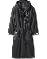 Alexander Wang Adidas Originals By Aw Fleece Robe - Black