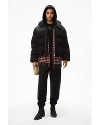 Alexander Wang Puffer Hybrid Jacket - Black