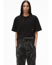 Alexander Wang High Twist Pocket T-shirt - Black