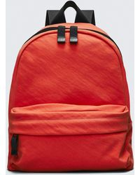 Alexander Wang - Orange Nylon Clive Backpack - Lyst